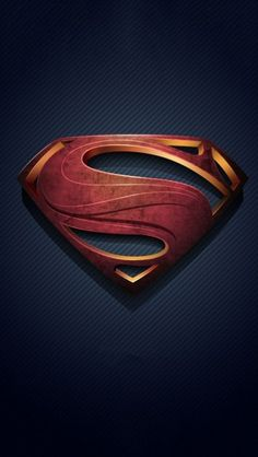 Man of Steel Logo - The iPhone Wallpapers