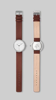 Chestnut Watch by I Love Ugly Watches