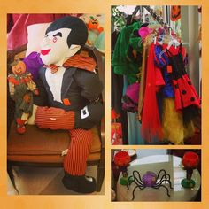 Do you need a costume or fun fall decorations? We have them all from scary to sweet!     #charityshop #whybuynew #kitchenware #dining #buylocal #shoplocal #thriftstore #thriftshop #hopewellva #petersburgva #colonialheights #chesterfield #rva #804 #homedecor #holidaydecorating  #halloween #autumn #fall