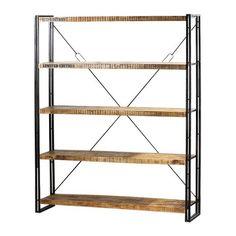≥ industriele boekenkast - kast - industrieel rek - keukenkast, Deco ideeën