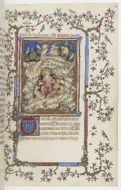 Part of a cycle on life of John the Baptist? Horae ad usum Parisiensem ou…