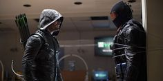 The Arrow vs The Vigilante. CW