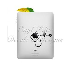 Stethoscope Nurse Doctor Heartbeat Medical by StickerSwagger