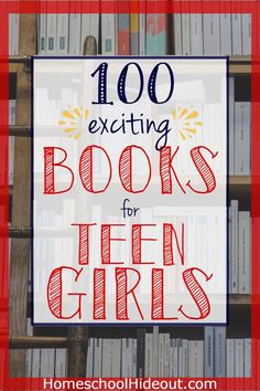 100 Exciting Books for Teen Girls Books for teen girls don& have to be dull. With adventure, mystery and a splash of love, these books have topped our reading list! Teen Girl Books, Book Girl, Books For Tweens, Biography Books, Homeschool High School, Homeschool Curriculum, Middle Schoolers, Eighth Grade, Book Suggestions