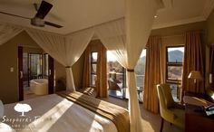 Hermosa habitación de Shepherd ' S Tree Lodge en Sudáfrica.