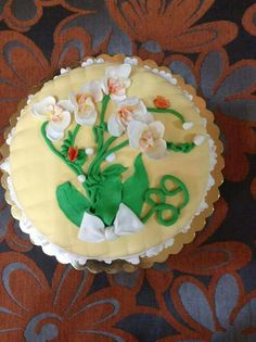 Torta floreale..
