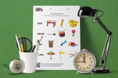 Circle the Picture – Objects! Sandbox, Campaign, Objects, Content, Teaching, Medium, Words, Creative, Fun