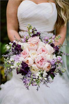 bridal bouquet by The Enchanted Florist @weddingchicks