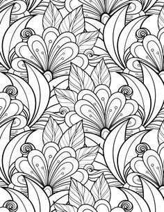 Paginas para Colorear - Adult Coloring pages