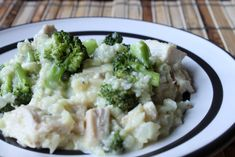 Chicken, Broccoli  Rice Casserole. Minus the chicken for thanksgiving