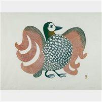 Proud bird by Pitaloosie Saila