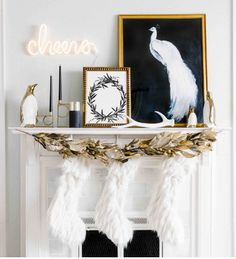 Showcase your unique holiday style with the bright gold metals of our ceramic penguins and an assortment of other luxe holiday items like our Corseca Stockings!