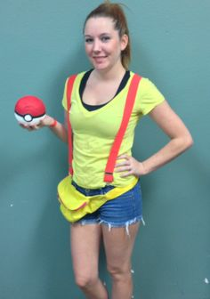 #DIY Pokemon Costume from Goodwill