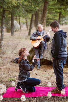 This Woman Made The Most Adorable Scavenger Hunt To Propose To Her BF Laureen Carruthers Photography