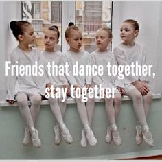 Friends that dance together, stay together. #dancelife #dancers