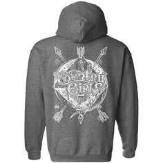 Our Women's Pullover Hoodie features a relaxed fit, and a double-lined hood with matching drawstring. The hoodie is made with 8 oz. polyester and has double-needle stitching throughout. Mossy Oak, Fashion Line, Country Girls, Arrows, Hoodies, Sweatshirts, Stitching, Girl Outfits, Pullover
