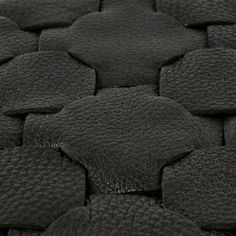 152x251 Leather Rug - Black  - alt_image_two