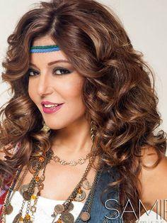 Arabic celebrity Samira Saeed