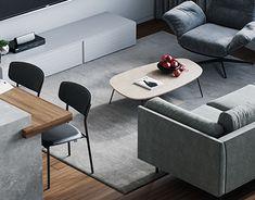 Omar Essam on Behance Architecture Visualization, Architecture Design, Monochrome Color, Interior Design Studio, Cottage Style, Neutral Colors, Moscow, Lighting Design, Behance