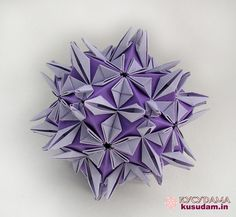 Origami for Everyone – From Beginner to Advanced – DIY Fan Origami And Kirigami, Origami Ball, Origami Paper, Oragami, Modular Origami, Origami Folding, Paper Folding, Origami Flowers, Paper Flowers