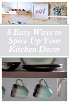 Give your kitchen a quick and easy update by swapping out the decor! #spon