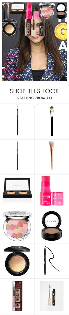 Victoria Justice Makeup Tutorial by oroartye-1 on Polyvore featuring beauty, Guerlain, 100% Pure, MAC Cosmetics, NYX, Forever 21, L'Oréal Paris, 217 and 266