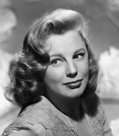 June Allyson. She has such amazing hair!