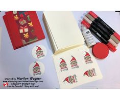 Stamping Creations With Marilyn - Creations with stamps, ink and paper. Making swap cards for events requires an assembly line approach! Stamping, Christmas Cards, Events, Ink, Create, Paper, Holiday, Christmas Greetings Cards, Vacations