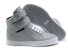 451cd30aabcb Supra TK Society Grey White Womens High Tops Supra Sneakers