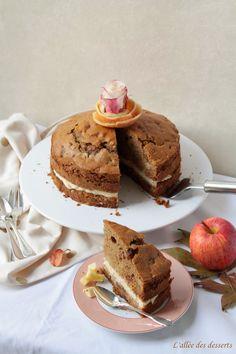 Gâteau aux pommes et au seigle