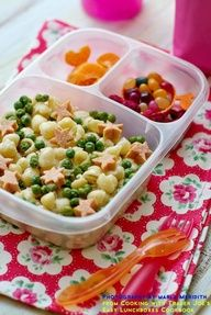 Lunchbox Pretty Pasta  recipe from Cooking with Trader Joe's @Kelly Lester / EasyLunchboxes Cookbook photography MarlaMeridith.com