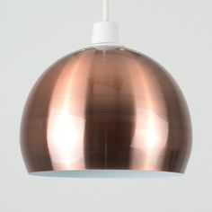 Complete The Look By Browsing Our Variety Of Modern And Contemporary Ceiling Light Shades Copper Ceiling, Dome Ceiling, Copper Lighting, Ceiling Pendant, Ceiling Lights, Ceiling Light Shades, Lamp Shades, Copper Lampshade, Decoration
