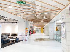 TAMAN MALURI Shopping Centre#Exterior Interior Design#Garden#Restaurant#Relaxation#Shopping mall#INPROUD#INPROUD ASIA Shopping Center, Shopping Mall, Centre, Asia, Loft, Exterior, Restaurant, Interior Design, Bed