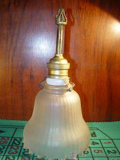 LAMPARA TULIPA = VENDIDO =