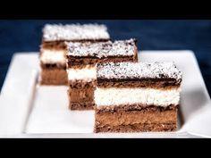 Vadász Szelet (Szécsi Szilvi) - YouTube Food And Drink, Candy, Chocolate, Baking, Youtube, Old Advertisements, Chocolates, Bakken, Candles