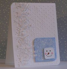 TLC408: Snowman Inchie vky by Vickie Y - Cards and Paper Crafts at Splitcoaststampers