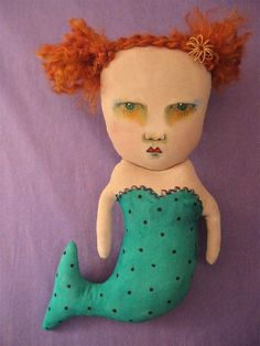 Art Dolls , paintings, illustrations by Sandy Mastroni