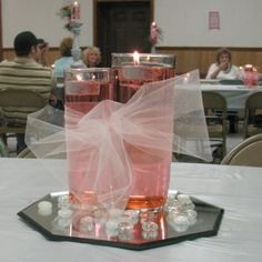 simple cheap wedding centerpieces