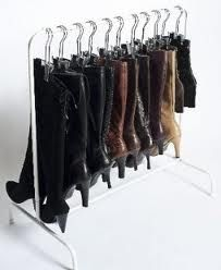 How Can You Organize Tall Boots?