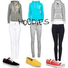 My definition of a perfect outfit... a hoody, some skinny jeans, and a pair of toms :) <3