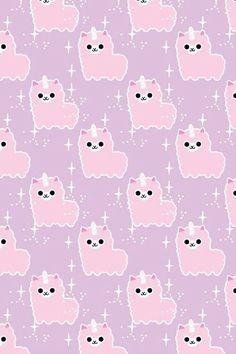 Pink Llama Wallpaper ❤