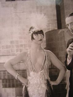 Louise Brooks in The American Venus, 1926.                                                                                                                                                                                 More