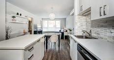 Kitchen Cabinet Kings, Kitchen Cabinet Hardware, Kitchen Shelves, Kitchen Countertops, Kitchen Backsplash, Kitchen Cabinets, Kitchen On A Budget, Kitchen Items, Rental Kitchen Makeover