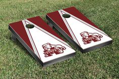 Pyramid of Power Mississippi State Bulldogs Corn Toss Game