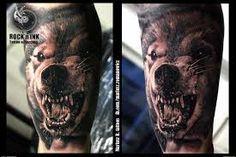 realistic wolf tattoo - Hľadať Googlom