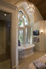 Cool bathroom...great window...