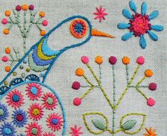 New Embroidery Kits sneek peak