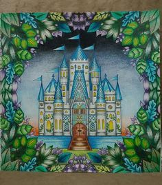 Castle enchanted forest