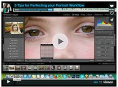 Free Webinar: 5 Tips for Perfecting your Portrait Workflow
