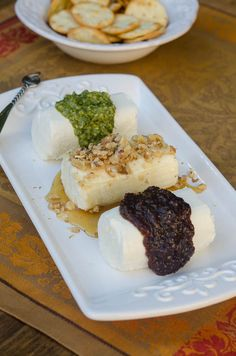 Goat Cheese Trio - ready in 5 minutes, requires no oven space. The perfect choice for Thanksgiving!